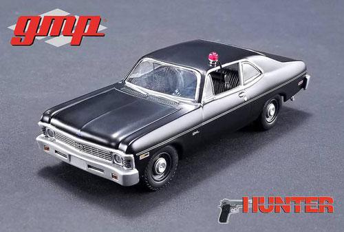 1/43 Hunter (1984-91 TV Series) - 1971 Chevrolet Nova Police[gmp]《06月仮予約》