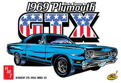 1/25 ダーティー・ドニー 1969 プリムスGTX プラモデル[AMT]《02月予約※暫定》