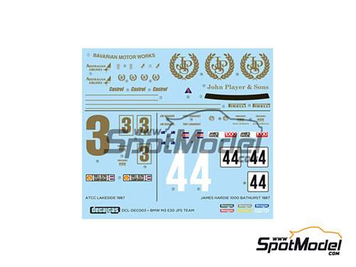 1/24 BMW M3 E30 JPS チーム ATCC レイクサイドウイナー 1987[スポットモデル]《在庫切れ》