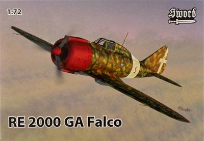 1/72 レジアーネ Re.2000 GA ファルコ プラモデル[ソード]《02月予約》