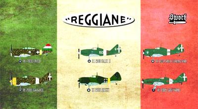 1/72 レジアーネ戦闘機 リミテッドエディション (6キット入りセット)プラモデル[ソード]《02月予約》