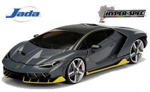 1/24 HyperSpec 2017 Lamborghini Centenario Carbon Fiber[Jada Toys]《04月仮予約》