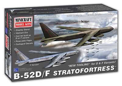 1/144 アメリカ空軍 B-52D/F ストラトフォートレス プラモデル[ミニクラフト]《在庫切れ》