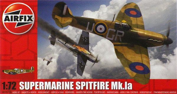1/72 スーパーマリーン スピットファイア Mk.Ia プラモデル[エアフィックス]《03月予約》