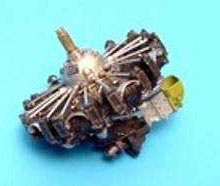 1/72 R-1820 サイクロンエンジン (1個)(再販)[アイリス]《在庫切れ》