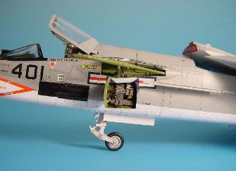 1/48 F-8E クルセーダー 用ガンベイ (H社用)(再販)[アイリス]《02月予約※暫定》