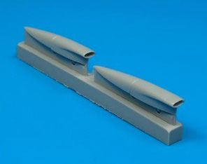 1/48 F-8 クルセーダー 空気取入スクープ (H社用)(再販)[クイックブースト]《在庫切れ》