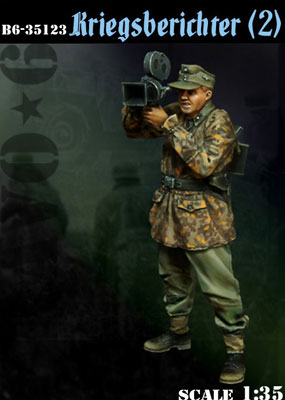 1/35 WWII独 従軍カメラマン(2)[BRAVO 6]《02月予約※暫定》