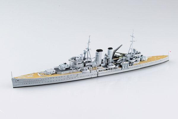 1/700 ウォーターライン 限定 英国重巡洋艦 エクセター スラバヤ沖海戦 プラモデル