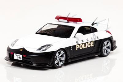 1/43 日産 フェアレディ Z Ver.NISMO (Z33) 2016 栃木県警察高速道路交通警察隊車両[RAI'S]《在庫切れ》