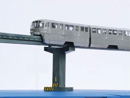 東京モノレール10000形6両編成 ディスプレイモデル(彩色済み) プラモデル[フジミ模型]《07月予約》
