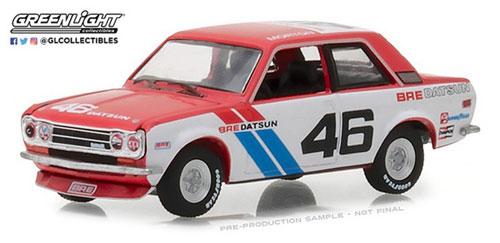 1/64 Tokyo Torque Series 2 - 1971 Datsun 510 - #46 Brock Racing Enterprises (BRE) - John Morton[グリーンライト]《06月仮予約》