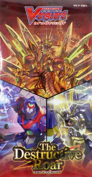 【特典】カードファイト!! ヴァンガード エクストラブースター第1弾 The Destructive Roar 12パック入りBOX[ブシロード]《06月予約》