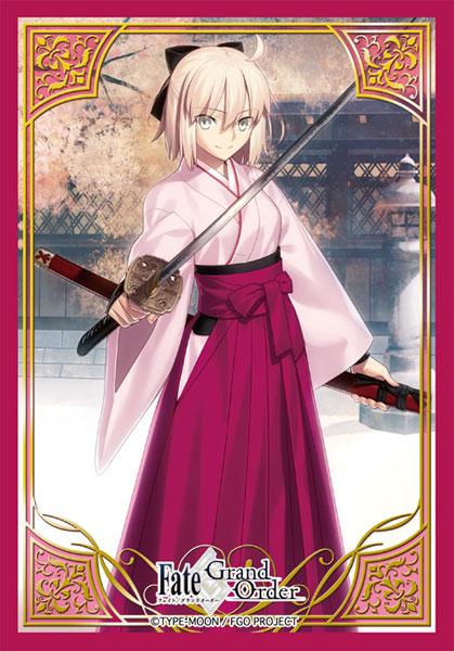 ブロッコリーキャラクタースリーブ・ミニ Fate/Grand Order「セイバー/沖田総司」 パック[ブロッコリー]《06月予約》