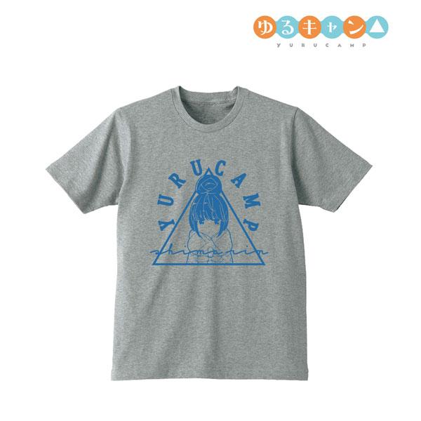 ゆるキャン△ Tシャツ(志摩リン)/メンズ(サイズ/M)[アルマビアンカ]《06月予約》