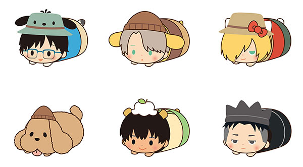 Yuri on Ice x SANRIO CHARACTERS - Mochi Kororin Vol.2 6Pack BOX(Pre-order)ユーリ!!! on ICE × SANRIO CHARACTERS もちころりん2 6個入りBOXAccessory