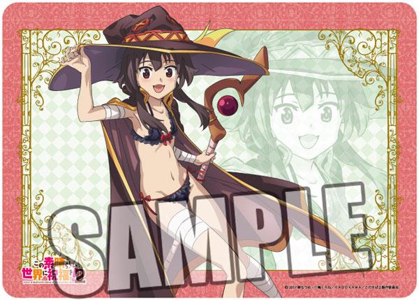 Character All Purpose Rubber Mat - KonoSuba 2: Megumin(Pre-order)キャラクター万能ラバーマット この素晴らしい世界に祝福を!2「めぐみん」Accessory