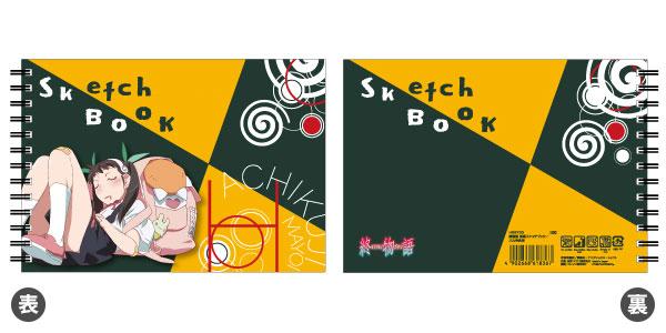 『終物語』 図案スケッチブック 八九寺真宵 アニメ・キャラクターグッズ新作情報・予約開始速報