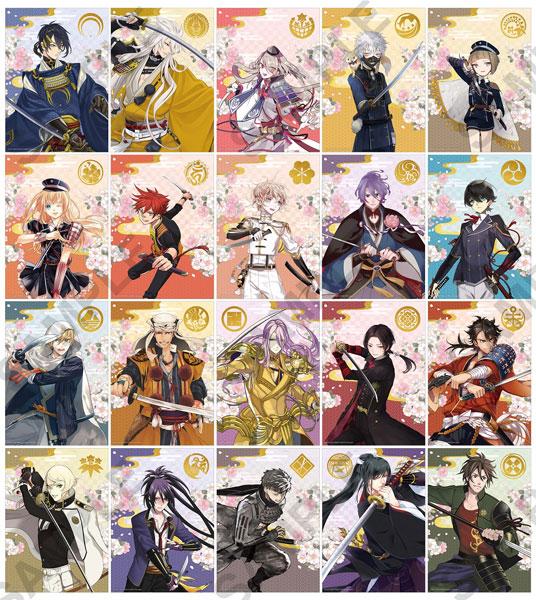 刀剣乱舞-ONLINE- チェンジングステッカーブロマイド 10個入りBOX[KADOKAWA]《06月予約》