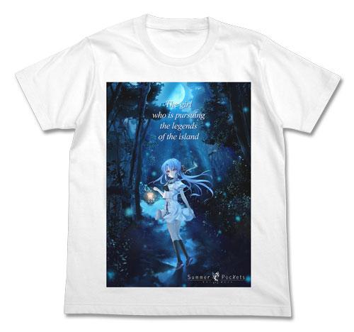 GEE!限定 Summer Pockets 空門蒼 フルカラーTシャツ/WHITE-XL
