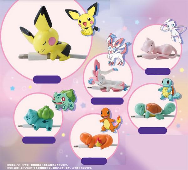 Pokemon - SuyaSuya on the Cable vol.2 8Pack BOX(Pre-order)ポケットモンスター すやすや★オン・ザ・ケーブルvol.2 8個入りBOXAccessory