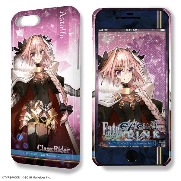 デザジャケット Fate/EXTELLA LINK iPhone 7 Plus/8 Plusケース&保護シート デザイン03(アストルフォ) アニメ・キャラクターグッズ新作情報・予約開始速報