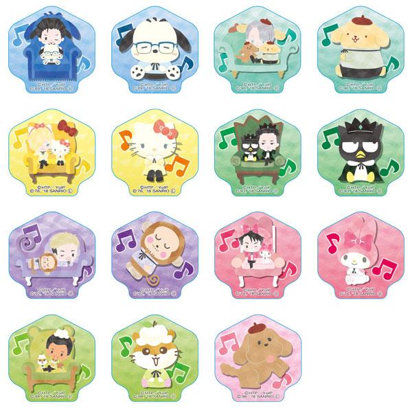 ユーリ!!! on ICE × サンリオキャラクターズ トレーディングキャンディピンズ 15個入りBOX[PROOF]《08月予約》
