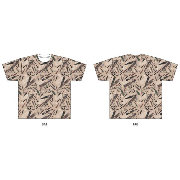ソードアート・オンライン オルタナティブ ガンゲイル・オンライン GGO銃弾迷彩フルグラフィックTシャツ M[グルーヴガレージ]《08月予約》