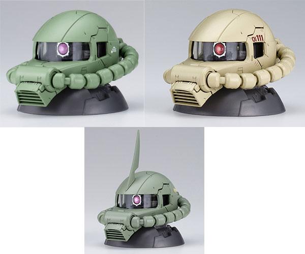機動戦士ガンダム EXCEED MODEL ZAKU HEAD 5 9個入りBOX[バンダイ]《09月予約》