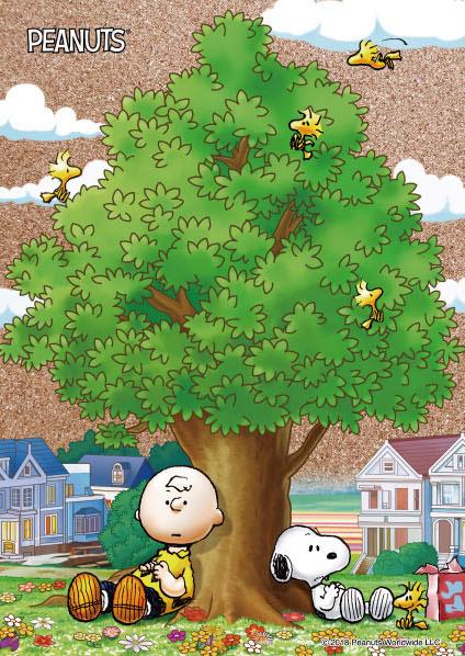 コルクジグソーパズル ピーナッツ With my friends 88ピース(88-032)[ビバリー]《08月予約》