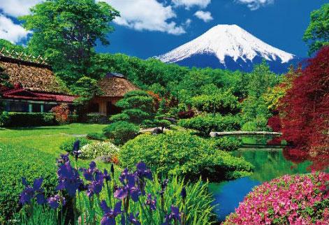 ジグソーパズル 忍野富士 2000スモールピース(S62-521)[ビバリー]《08月予約》