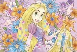 ディズニー パズルデコレーションmini Royal Floral ラプンツェル 70ピース (70-020)[エポック]《08月予約》