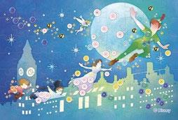 ディズニー パズルデコレーションmini Silhouette ピーター・パン 70ピース (70-022)[エポック]《08月予約》