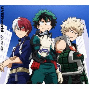 CD UVERworld / 「ODD FUTURE」 期間生産限定アニメ盤 (TVアニメ「僕のヒーローアカデミア」OPテーマ)