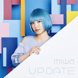 CD miwa / アップデート 初回生産限定盤 DVD付 (TVアニメ「僕のヒーローアカデミア」EDテーマ)[SME]《取り寄せ※暫定》