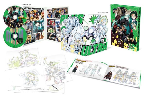 BD 僕のヒーローアカデミア 3rd Vol.5 Blu-ray 初回生産限定版