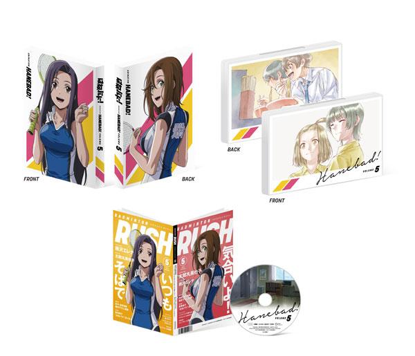 DVD 「はねバド!」 Vol.5 DVD 初回生産限定版