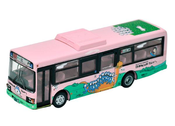 全国バスコレ 1/80 〈JH028〉全国バス80 南部バス 11ぴきのねこラッピングバス1号車[トミーテック]《発売済・在庫品》