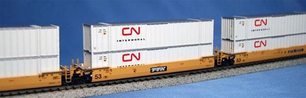 106-6173 MAXI-IV TTX 旧ロゴ (CN 53フィート コンテナ付)[ホビーセンターカトー]【送料無料】《09月予約》