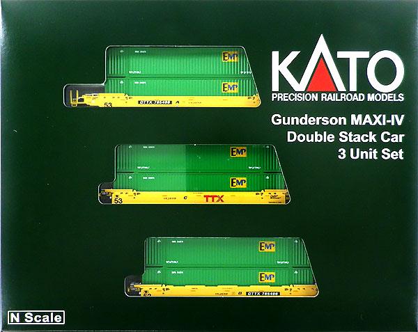 106-6174 MAXI-IV TTX 新ロゴ (EMP 53フィート グリーンコンテナ付)[ホビーセンターカトー]【送料無料】《09月予約》