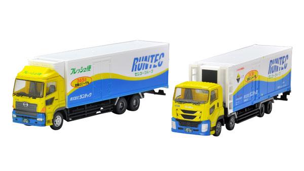ザ・トラックコレクション ランテック大型トラックセット[トミーテック]《11月予約》