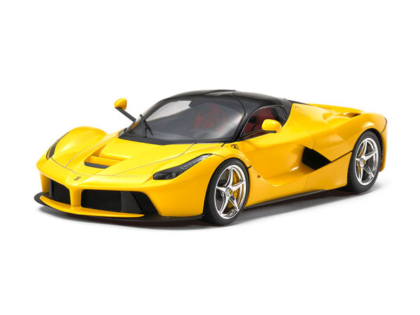 1/24 スポーツカーシリーズ ラ フェラーリ イエローバージョン プラモデル[タミヤ]《発売済・在庫品》