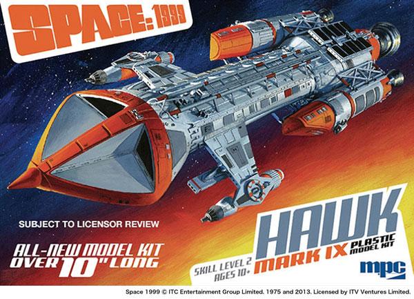 1/72 スペース 1999 ホークIX プラモデル[MPC]《06月予約》