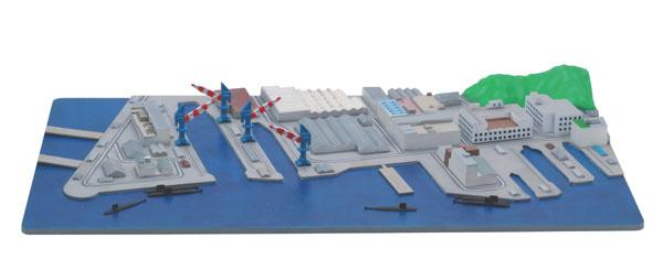 1/3000 集める軍港シリーズ No.5 米軍横須賀基地 プラモデル[フジミ模型]《07月予約》