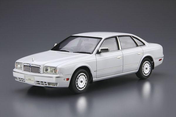 ザ・モデルカー No.89 1/24 ニッサン G50 プレジデントJ's/インフィニティQ45 '89 プラモデル[アオシマ]《08月予約》