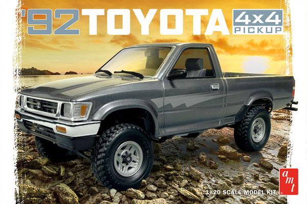 1/20 トヨタ 4×4 ピックアップトラック プラモデル[AMT]《07月予約》
