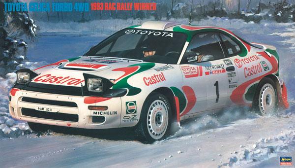 """1/24 トヨタ セリカ ターボ 4WD""""1993年 RACラリー優勝車"""" プラモデル[ハセガワ]《08月予約》"""