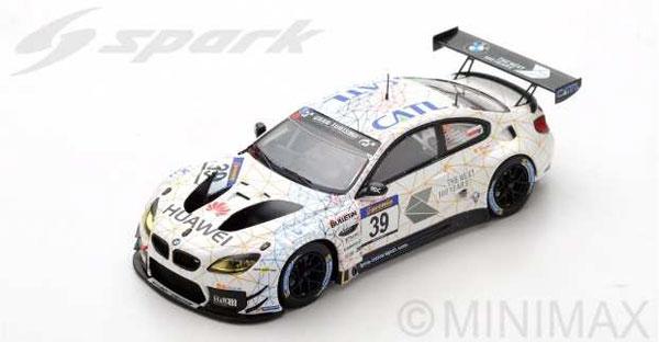 1/43 BMW M6 GT3 No.39 Schubert Motorsport 2nd VLN 2016 Round 3 L. Luhr - M. Tomczyk - J. Edwards[スパーク]《09月仮予約》