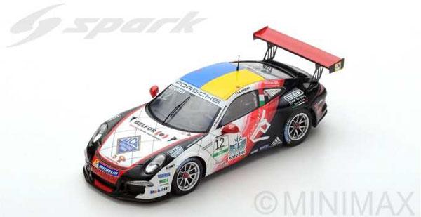 1/43 Porsche 911 GT3 Cup No.12 Porsche Carrera Cup Italia Champion 2017 Alessio Rovera[スパーク]《09月仮予約》