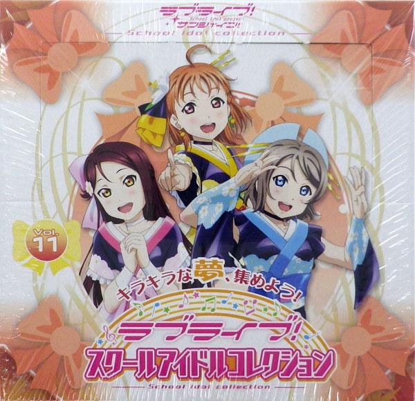 ラブライブ!スクールアイドルコレクション Vol.11 30パック入りBOX